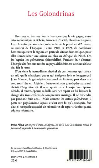 4eme Les Golondrinas ou les trois soeurs d'Alméria