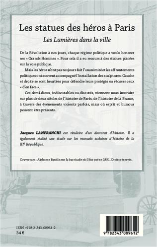 4eme Les statues des héros à Paris