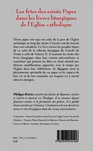 4eme Les fêtes des saints Papes dans les livres liturgiques de l'Eglise catholique