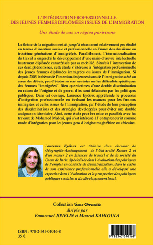 4eme L'intégration professionnelle des jeunes femmes diplômées issues de l'immigration