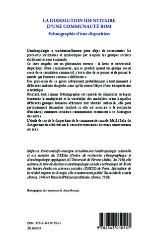 4eme La dissolution identitaire d'une communauté rom