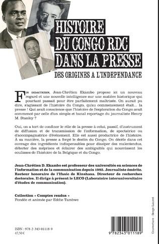 4eme Histoire du Congo RDC dans la presse