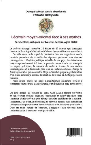 4eme L'écrivain moyen-oriental face à ses mythes