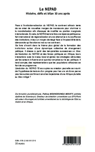 4eme Le NEPAD Histoire, défis et bilan 10 ans après