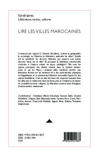 4eme Lire les villes marocaines