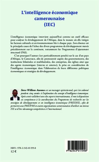 4eme L'intelligence économique camerounaise (IEC)
