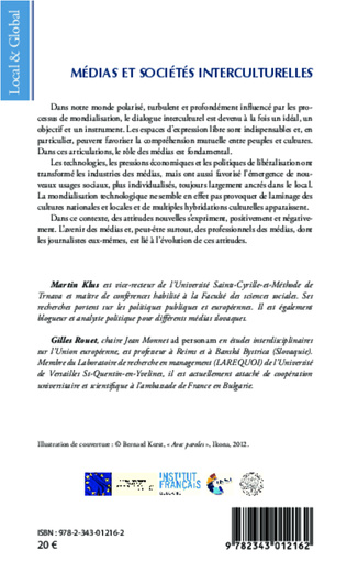 4eme Médias et sociétés interculturelles