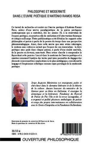 4eme Philosophie et modernité dans l'oeuvre poétique d'António Ramos Rosa