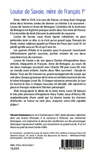 4eme Louise de Savoie, mère de François 1er
