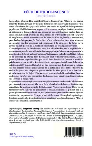 4eme Période d'adolescence (Tome 1)