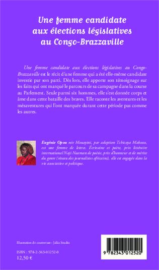 4eme Une femme candidate aux élections législatives au Congo-Brazzaville