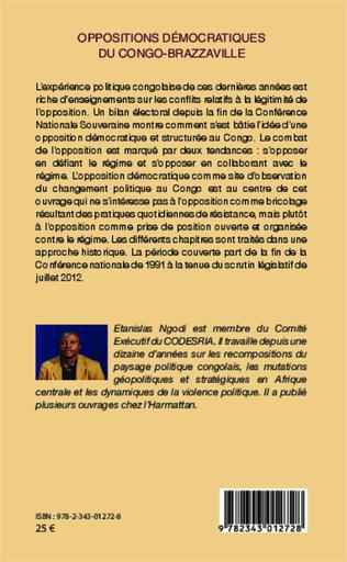4eme Oppositions démocratiques du Congo-Brazzaville