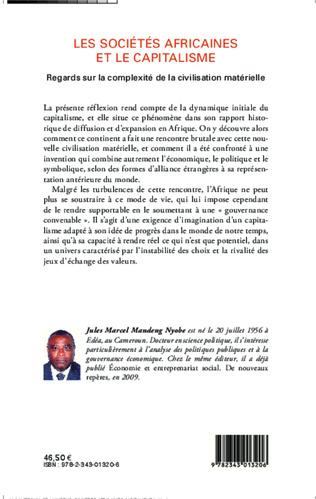 4eme Les sociétés africaines et le capitalisme