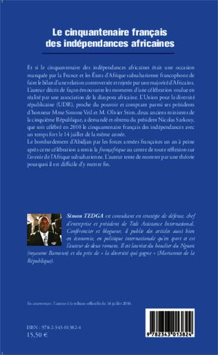4eme Le cinquantenaire français des indépendances africaines