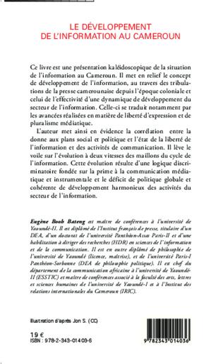 4eme Le développement de l'information au Cameroun