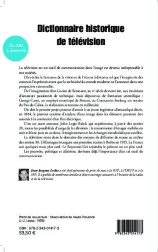 4eme Dictionnaire historique de télévision