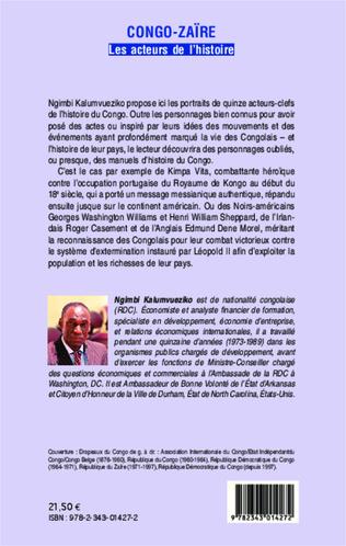 4eme Congo-Zaïre les acteurs de l'histoire
