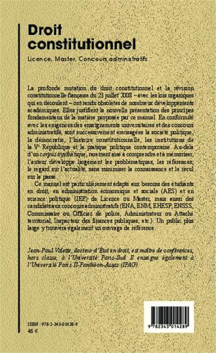 4eme Droit constitutionnel