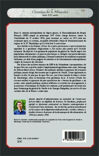 4eme Le gaullisme d'opposition aux Antilles et en Guyane