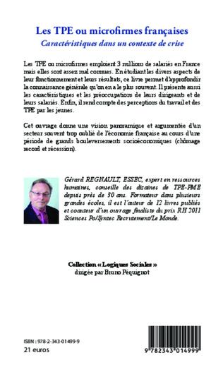 4eme Les TPE ou microfirmes françaises
