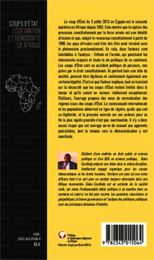 4eme Coups d'Etat : légitimation et démocraties en Afrique