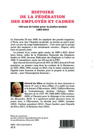 4eme Histoire de la Fédération des Employés et Cadres