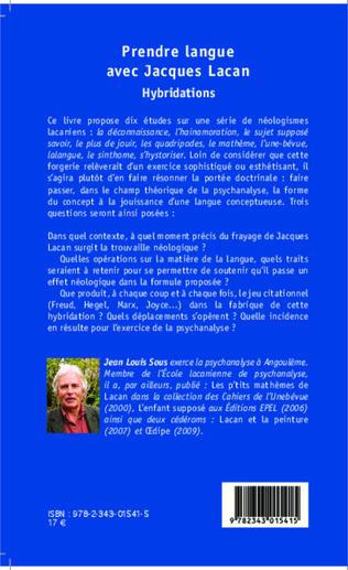 4eme Prendre Langue avec Jacques Lacan