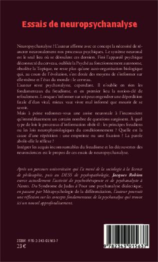 4eme Essais de neuropsychanalyse