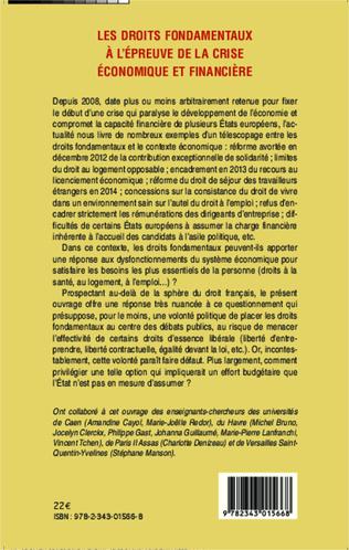 4eme Les droits fondamentaux