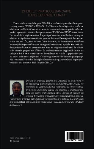 4eme Droit et pratique bancaire dans l'espace OHADA