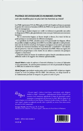 4eme Pilotage des ressources humaines en PME