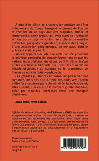 4eme Etat Indépendant du Congo 1885-1908 D'autres vérités