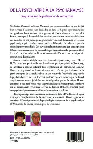 4eme De la psychiatrie à la psychanalyse
