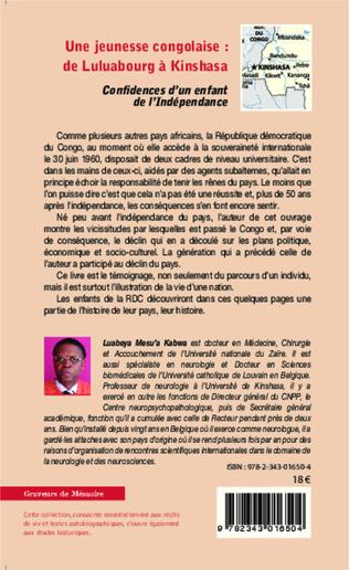 4eme Une jeunesse congolaise : de Luluabourg à Kinshasa