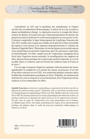4eme La Syrie et la France