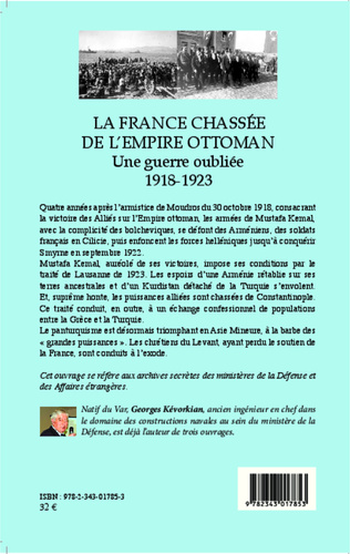 4eme La France chassée de l'Empire ottoman
