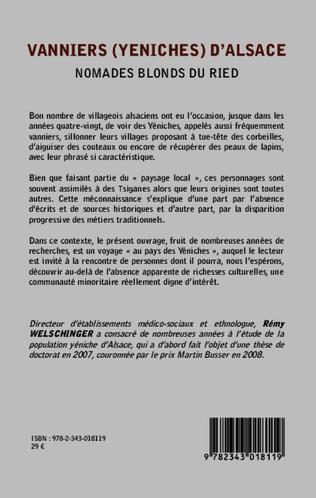4eme Vanniers (Yeniches) d'Alsace