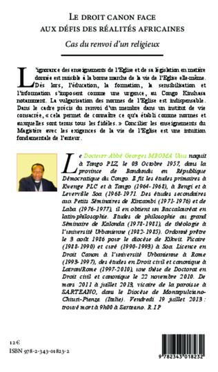 4eme Le droit canon face aux défis des réalités africaines