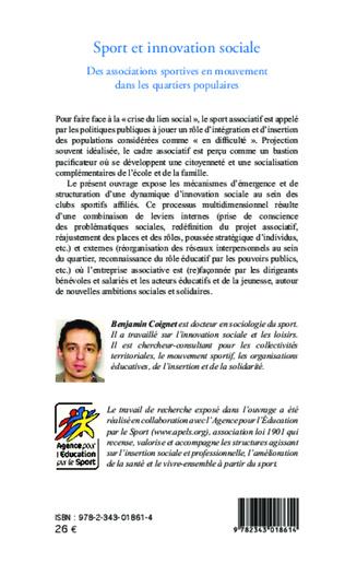 4eme Sport et innovation sociale