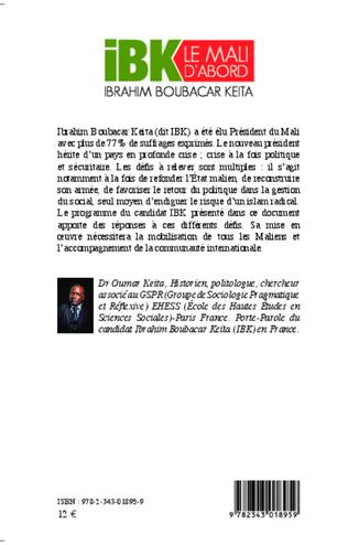 4eme IBK le Mali d'abord