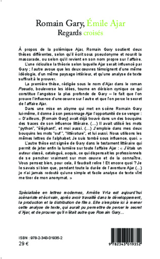 4eme Romain Gary, Émile Ajar