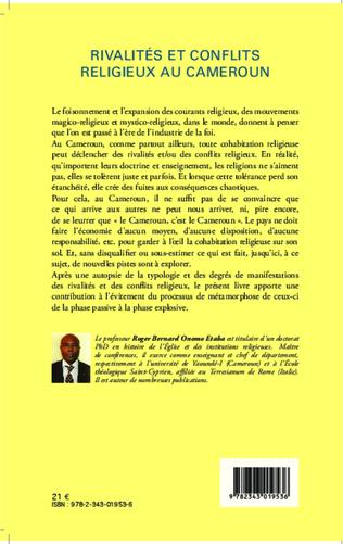 4eme Rivalités et conflits religieux au Cameroun