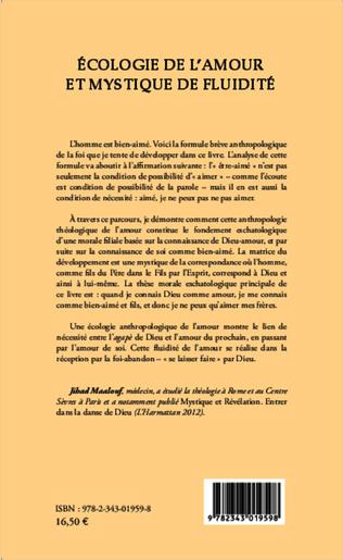 4eme Ecologie de l'amour et mystique de fluidité