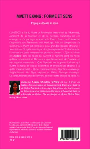 4eme Mvett Ekang : forme et sens