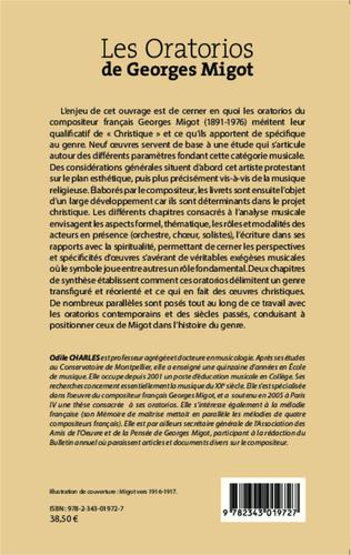 4eme Les Oratorios de Georges Migot