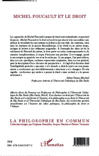 4eme Michel Foucault et le droit
