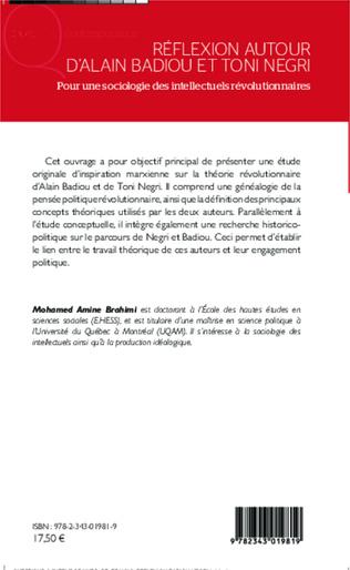 4eme Réflexion autour d'Alain Badiou et Toni Negri