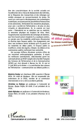 4eme Communication et débat public :