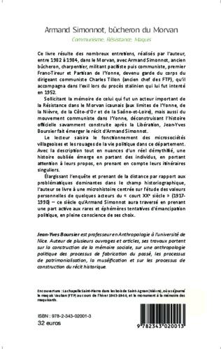 4eme Armand Simonnot, bûcheron du Morvan