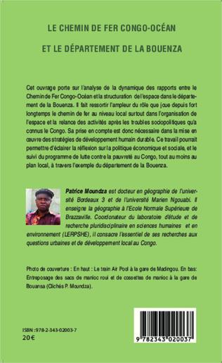 4eme Le chemin de fer Congo-Océan et le département de la Bouenza
